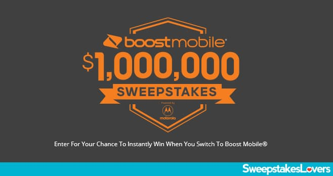 Boost Mobile - $1,000,000 Sweepstakes</a><br> by <a href='/profile/Bling-King/'>Bling King</a>