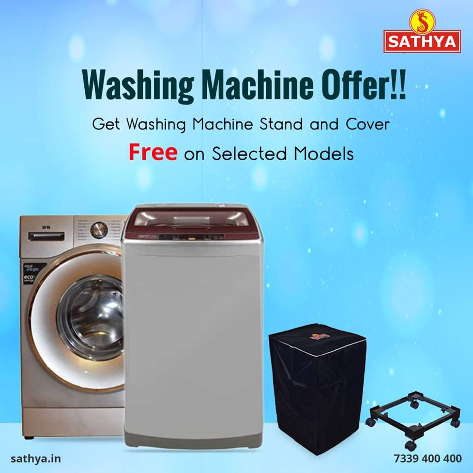 Buy Washing Machine Online | Sathya Online Shopping