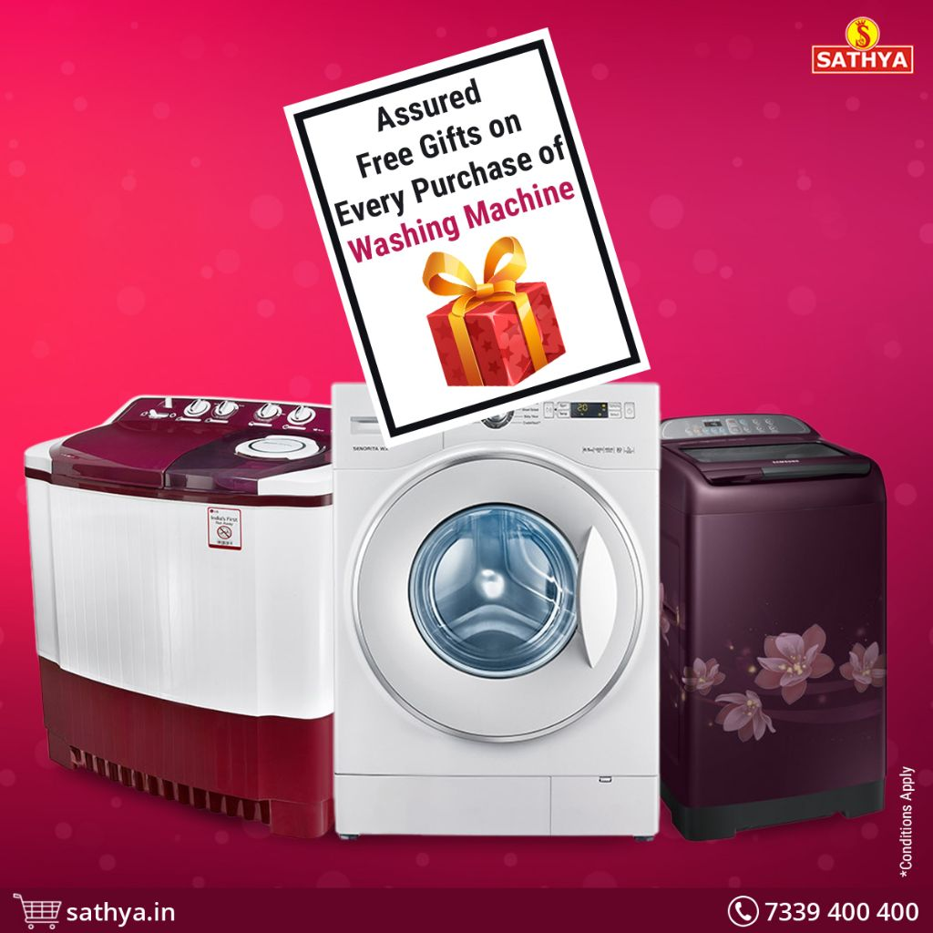 Washing Machine Offers | Sathya Online Shopping