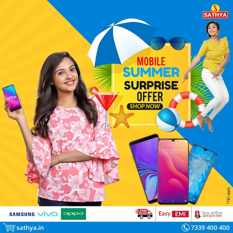 Buy Smart Phone Online | Sathya Online Shopping