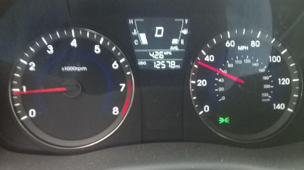 My Car - Hyundai 2104 Accent GS Hatchback-Gas Mileage